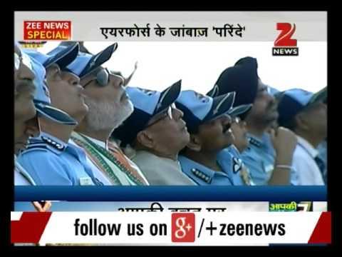 Rajasthan: Indian Air Force showcases combat capabilities in Pokhran