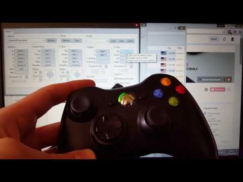 How to set up Xbox 360 controller gamepad with Dolphin emulator (Configure,map)Tutorial