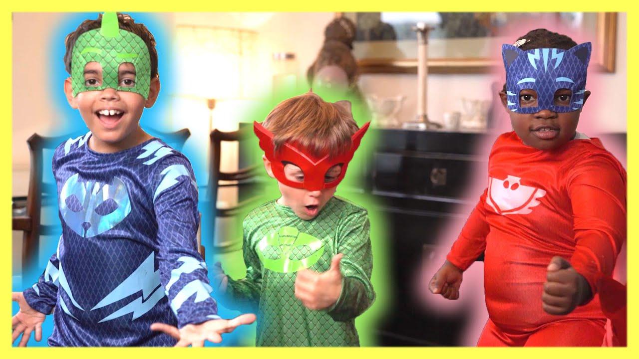 Download Dance Along with the PJ Masks! LIVE 🔴 PJ Masks Official