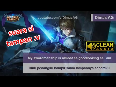 Gusion Voice & Quotes (Terjemahan) | Mobile Legends
