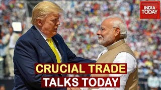PM, Trump Get To Business, Crucial Bilateral & Trade Talks Today