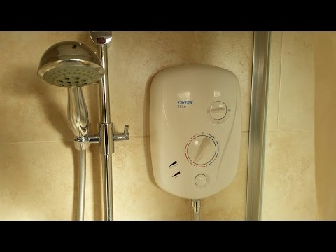 How to repair a Triton T80xr shower that keeps cutting out - no water
