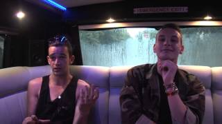 The 1975 interview - Matthew Healy and George Daniel (part 3)