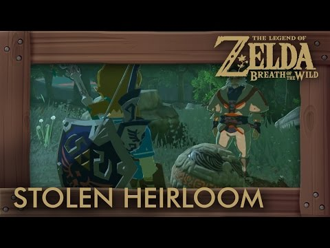 Zelda Breath of the Wild - How to Get Impa's Orb (The Stolen Heirloom Shrine Quest)