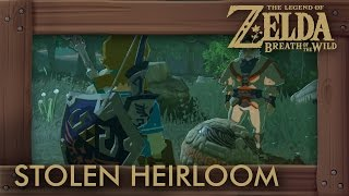 Zelda Breath of the Wild - How to Get Impa's Orb (The Stolen Heirloom Shrine Quest)