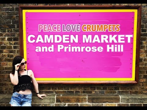 Travel Tips: London | Camden Market & Primrose Hill