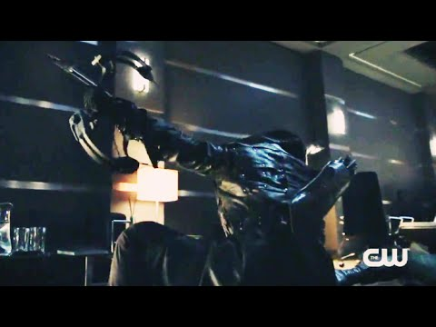 Стрела против Тёмного Лучника (Томми) ЗЕМЛИ-2 [Стрела 8 сезон]