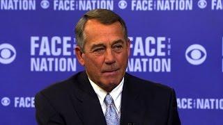 house speaker john boehner there will not be a government shutdown