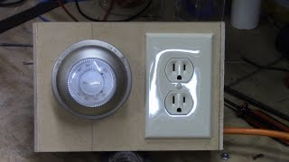 Thermostat Controlled Outlet