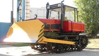 Traktor DT 75 Die beliebte und zuverlässige sowjetischen  Популярный  советский Трактор ДТ 75