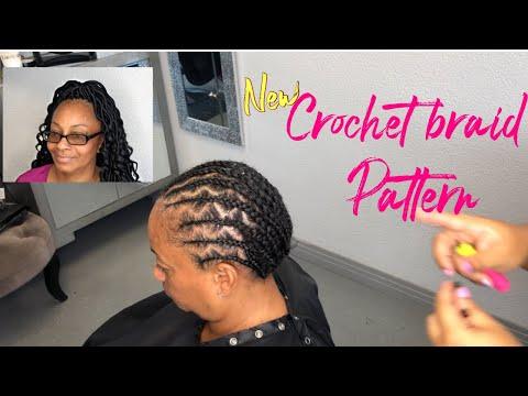 Zig Zag Illusion Braid Pattern For Crochet Braids