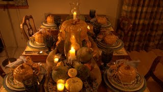Holiday Diy: Bountiful Inspiration For Your Thanksgiving Table
