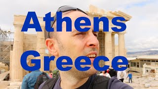 Athens Greece City Tour Travel Vlog Dutchified