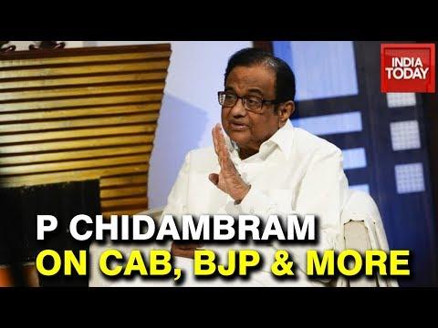 """BJP Agenda Is Exclusion"" P Chidambaram Exclusive Interview With Rajdeep Sardesai | Watch"