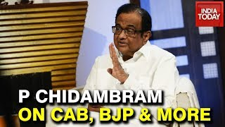 """BJP Agenda Is Exclusion"" P Chidambaram Exclusive Interview With Rajdeep Sardesai 