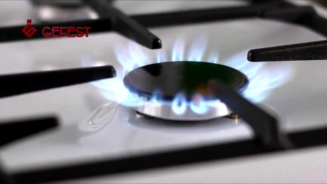 Настольная плита Gefest 700-02 - 3D-обзор от Elmir.ua - YouTube