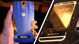 $6300 Lamborghini Android Phone + $10,000 Fully Encrypted Gold iPhone 6!