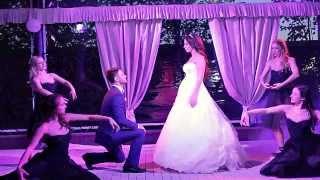 Необычный Свадебный танец Богдана и Галины!