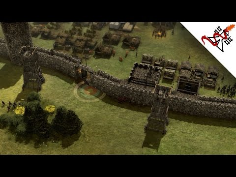 Stronghold 3 - 1vs1 A Siege to Remember   Multiplayer Gameplay