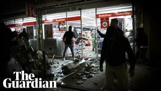 Riots erupt in Stuttgart after police drug checks