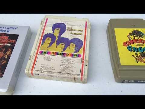 800, 8 track tape haul, PT 2, VC & cassette & 8 track tape community.