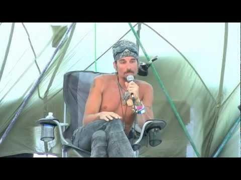 """Charles Shaw at Burning Man 2012 - """"Living in the Exile Nation: The War on Consciousness"""""""