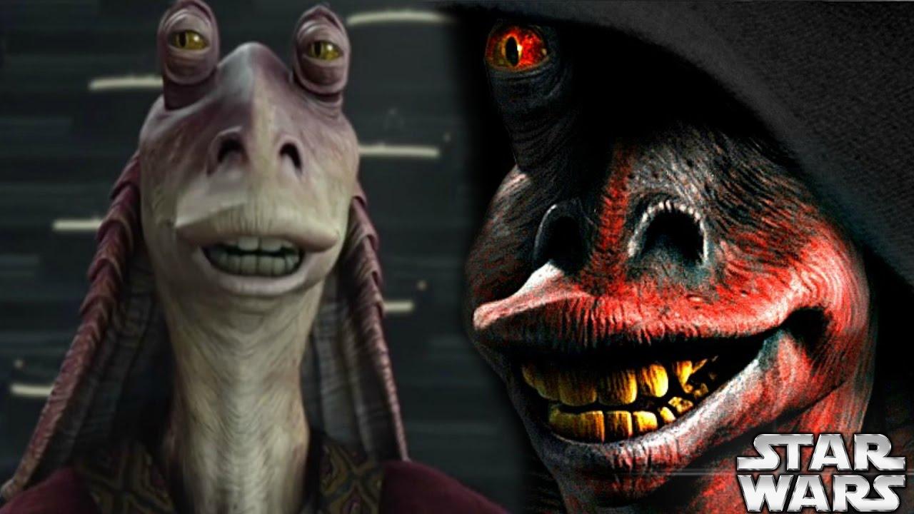 Jar Jar S Fate Revealed Star Wars Explained Youtube