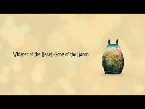 Whisper of the Heart |  Song of the Baron | Relaxing Piano Studio Ghibli Complete Collection