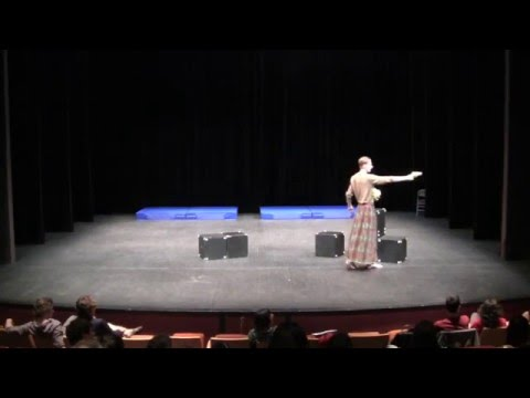 Hedda Gabler på norsk (Anden Akt, Scene 1)