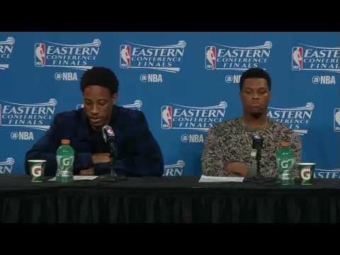 Raptors Post-Game: DeMar DeRozan & Kyle Lowry - May 25, 2016