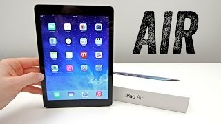 iPad Air Unboxing + First Impressions [Launch Day Unboxing]