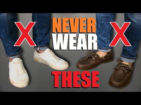 7 Shoes Men Should NEVER Wear!