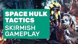 Space Hulk: Tactics Gameplay | Complete Blood Angels Vs Genestealers Skirmish
