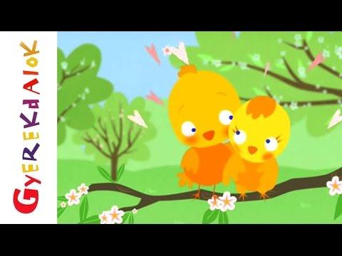 Tavaszi szél vizet áraszt (Gyerekdalok és mondókák, rajzfilm gyerekeknek) letöltés