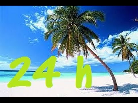 24 Hours Ocean Waves Sea Waves Stunning Sound  Paradise At Last! Relaxati!