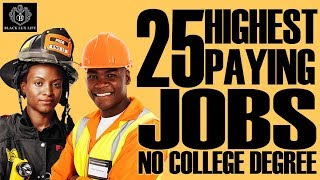Black Excellist: Top 25 Jobs without 4 Year College Degree