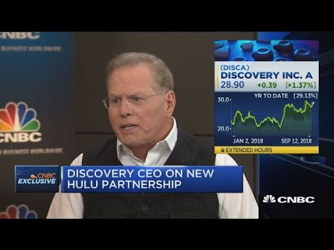 Discovery CEO on Hulu, Sling TV deals