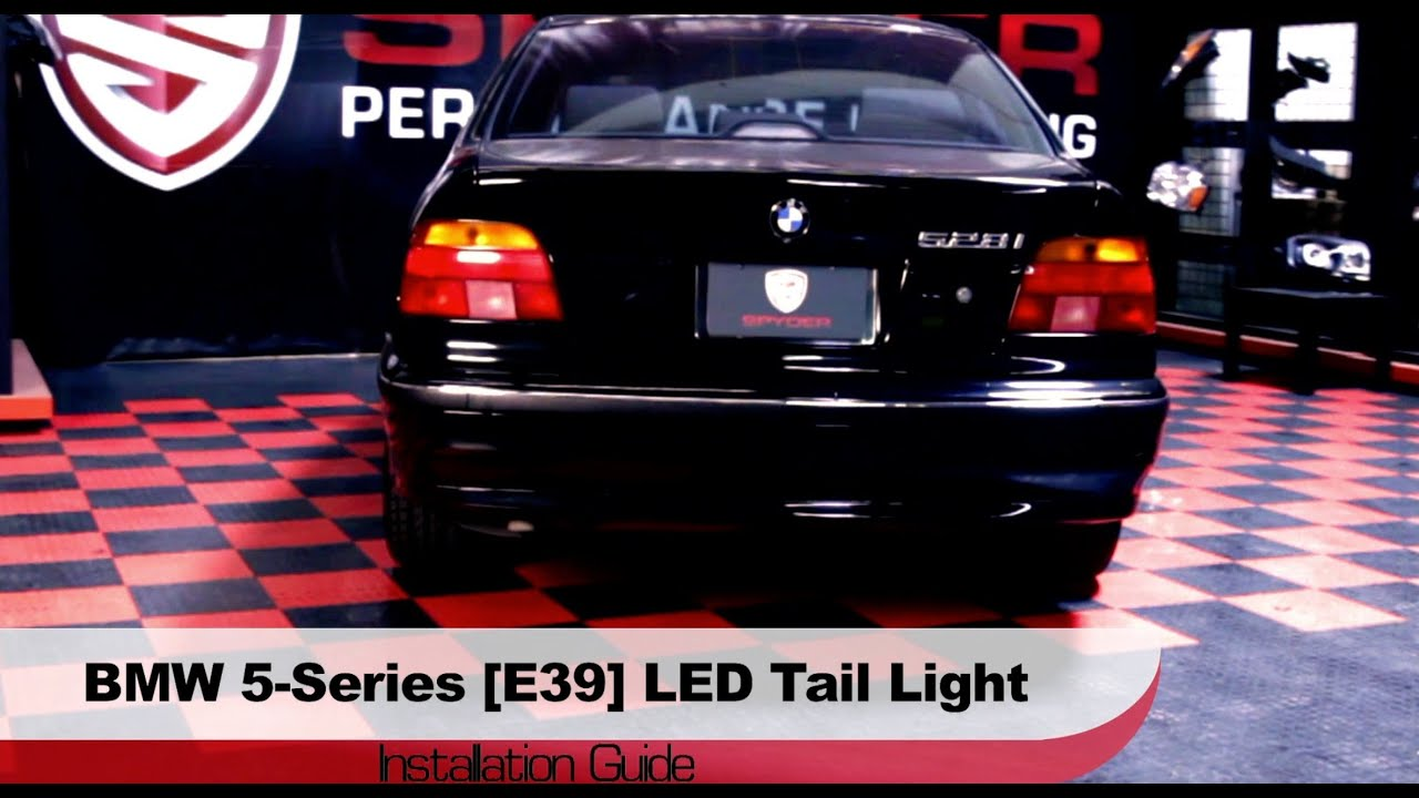 Spyder Auto Installation 1997 00 Bmw 5 Series E39 Led