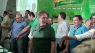 Senador Eunício Oliveira rebate acusações e acusa opositores da política cearense