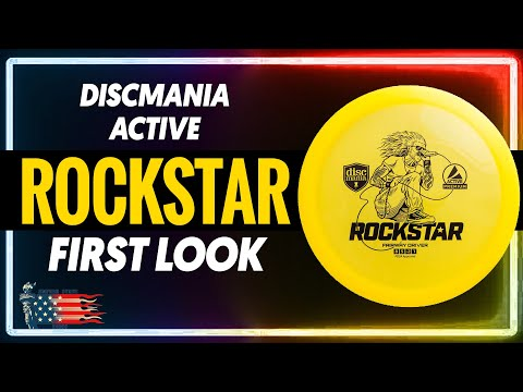 Discmania Active Rockstar First Look