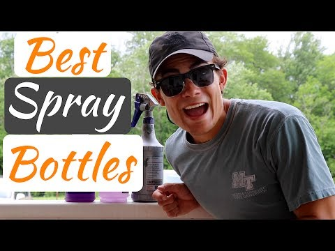Best Sprayers For Car Detailing: No More Frustrating Spray Bottles!
