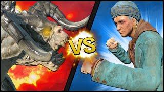 Fallout 4 Battle - 100 DEATHCLAWS vs. MAMA MURPHY