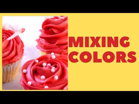 Red Colored Icing YouTube