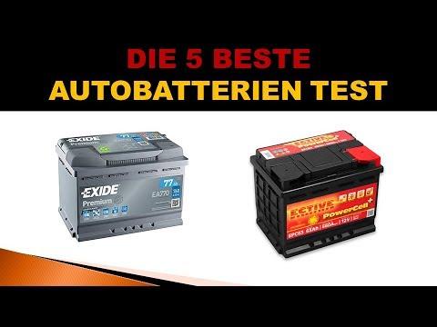 Beste Autobatterien Test 2020