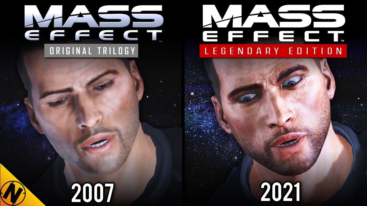 Mass Effect Legendary Edition vs Original Trilogy | Direct Comparison