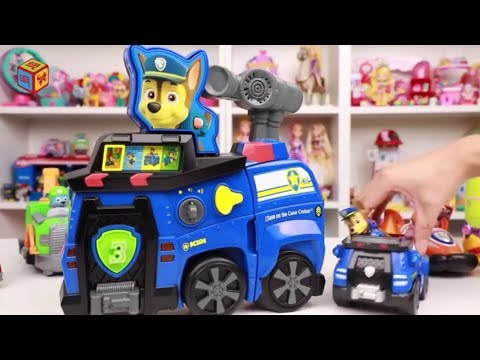 paw-patrol-toys-chase-on-the-case-cruiser-|-toy-review-|