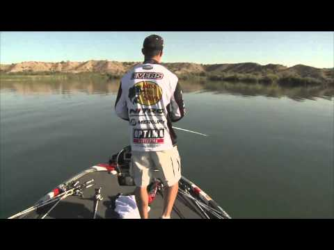 Edwin Evers breaks off a good one BASS Live www.bassmaster.com