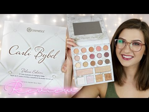 CARLI BYBEL DELUXE EDITION PALETTE | Review and Swatches