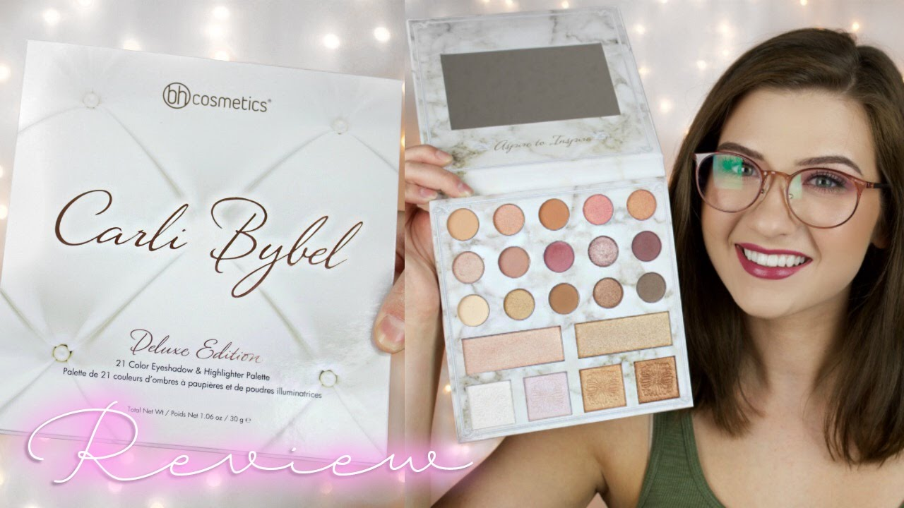 Carli Bybel Deluxe Edition Palette Review