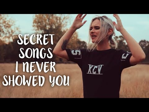 SHOWING YOU MY UNRELEASED MUSIC | Talia Mar